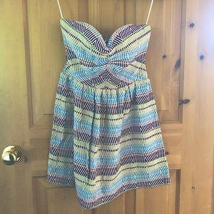 Roxy Strapless Sweetheart Print Summer Dress/Tunic
